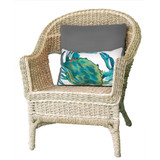 Blue Crab Indoor-Outdoor Sea 12x20 Pillow room view
