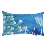 Reef Indoor-Outdoor Blue 12x20 Pillow