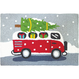 Holiday Shopping Van Accent Rug