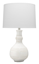 White Water Droplet Table Lamp