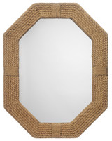 Lanyard Roped Mirror in Jute