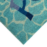 This Way to the Pool Natural Coir Mat - 24 x 36  corner 2
