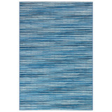 Marina Blue Striped Area Rug