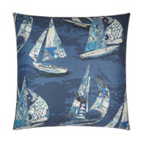 Islander Sail Nautical Luxury Pillow