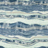 Ocean Highway Elegant Pillow close up fabric
