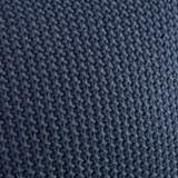 Indigo Blue Bree Knit Euro Sham close up knit