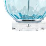 Aurora Sea Aqua Glass Lamp base