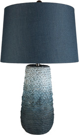 Amalfi Blue Jute Wrapped Table Lamp