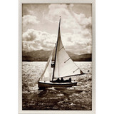 A Great Sail Framed Coastal Image