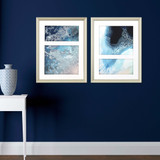 Silver Framed Sea Dance -Set of Two room example