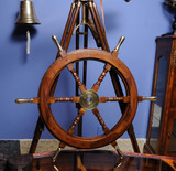 Rosewood Ship's Wheel 30 inches room view
