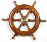 Rosewood Ship's Wheel 36 inches
