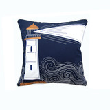 Light The Night Embroidered Indoor-Outdoor Pillow