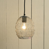 Bristol Looped Wire Small Pendant Lighting room view