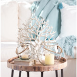 Rosa Luminaries with Roped Handles - Set of Two table example