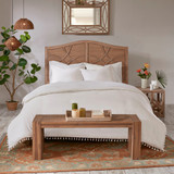 Lillian Ivory 3-Piece Duvet Set