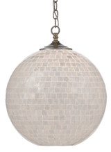 Finhorn Mother of Pearl Pendant light on