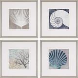 Set of Four Coastal Mod II Images