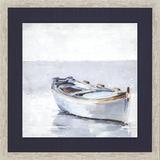 Reflected Horizon Set of Two Framed Nautical Prints .1
