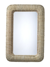 Hollis Natural Wrapped Rectangle Mirror