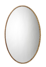 Sandpiper Braided Oval Mirror