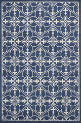 Blue Bentley Lucia Indoor-Outdoor Rug