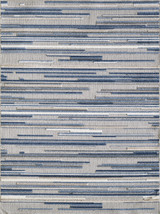 Blue Denni Striped Rug