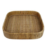 Cayman Small Square Rattan Tray main image