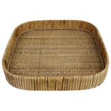 Cayman Large Square Rattan Tray