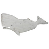 Melville White Sperm Whale Wall Decor