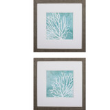 Sea Crowns - Set of Two Coastal Prints