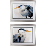 Blue Heron Sea Hunters - Set of Two Coastal Prints