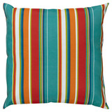 Bright Cabana Stripes 22 x 22 Indoor-Outdoor Pillow