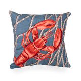 Lobster Net Indoor-Outdoor Pillow