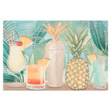 Patio Party Tropical Floor Mat