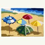 Water's Edge Umbrellas Accent Rug