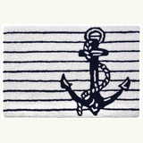 Ship's Anchor Nautical Accent Rug