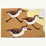 Morning Sand Pipers Accent Rug