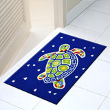 Painted Turtle Accent Rug