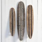 Long Board Wall Decor Replicas - Set of Three