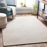 Silver Strada Wool and Viscose Rug room