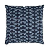 Chivari Tufted Deep Blue 22 x 22 Pillow