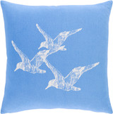 Trio of Gulls Cottage Pillow