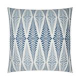 Jantar Tile Indigo Blue Pillow