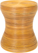 Balinese Natural Rattan End Table
