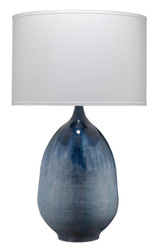 Twilight Table Lamp in Blue Ombre