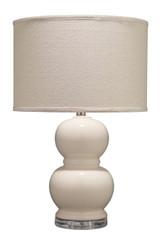 Bubble Table Lamp in Cream