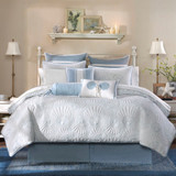 Crystal Blue Beach Bedding Set - Queen Size