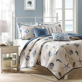 Bayside Full-Queen Size Coverlet Bedding Set