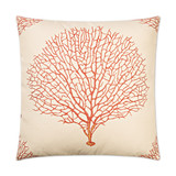 Coral Sea Fan Luxury Pillow